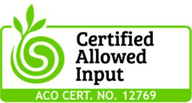 ACO certified Imported Product